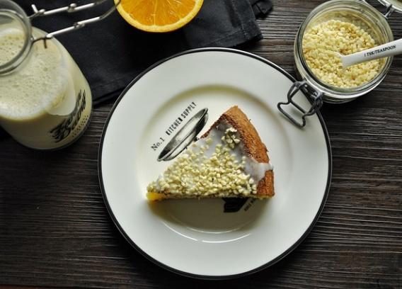 Ciasto pomarańczowe (bez mąki)