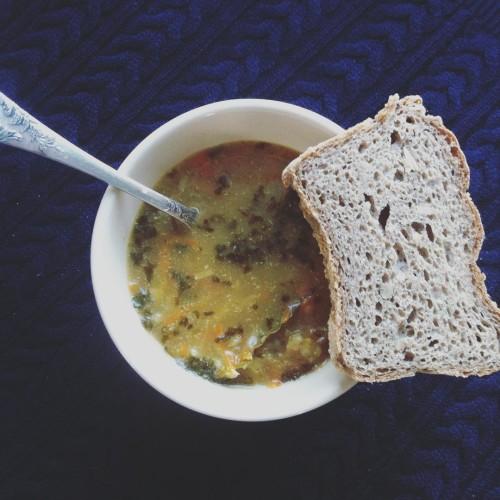 Goraca ogorkowa soup vegetarian glutenfree sour natchniona