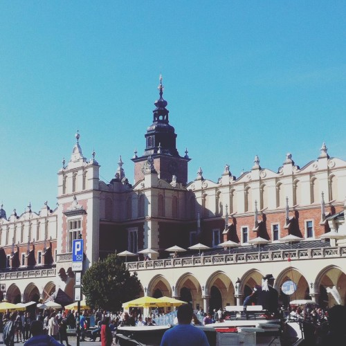 Pikny pazdziernik pikne miasto  krakow