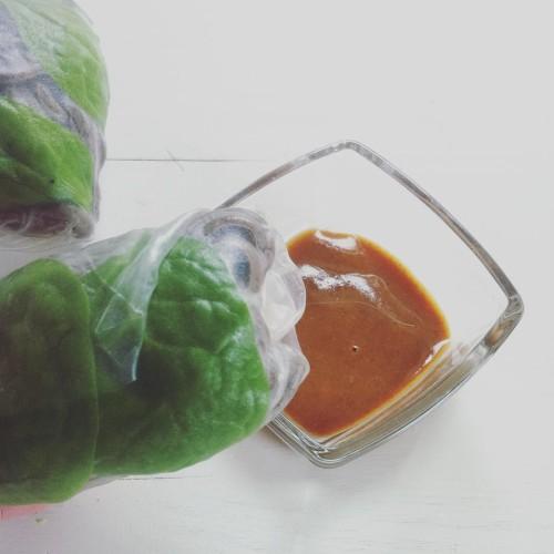 Spring rolls springrolls ricepaper vegan vegetarian glutenfree natchniona