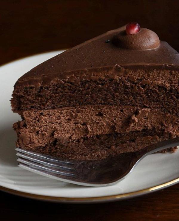 Tort Bez Mleka Natchniona